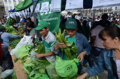 Se entregarán de forma gratuita 10 mil kilos de verduras en plaza Moreno