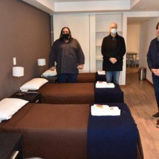 Instalarán un hospital de campaña en el hotel de SUTEBA