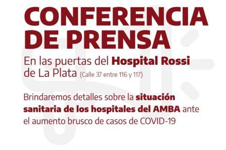 Profesionales de la salud darán detalles de la situación de los hospitales en AMBA