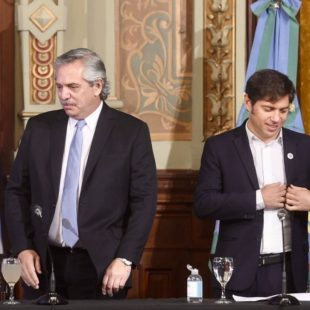 Alberto Fernández se reunió con Axel Kicillof