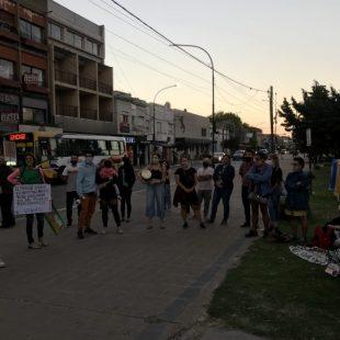 Movilizaron en contra de la privatización del Parque Cívico de Berisso