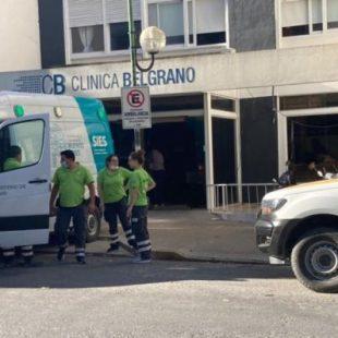 Una clínica se quedó sin oxígeno y tuvieron que trasladar a sus pacientes
