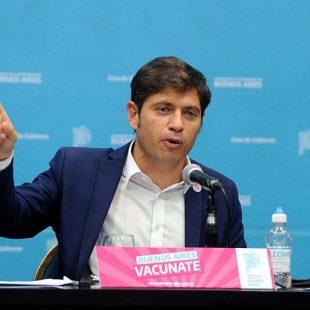 El gobierno de Kicillof implementó un plan para fortalecer la provisión de oxígeno