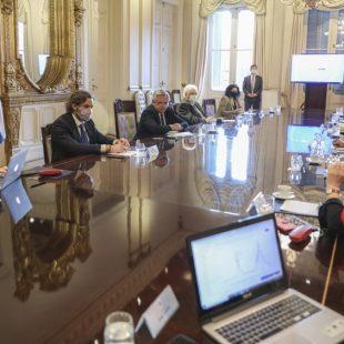 El gobierno se reunió con especialistas y expertos en Casa Rosada