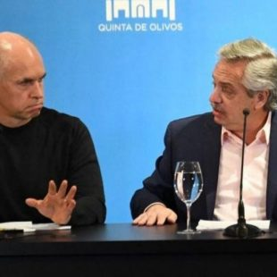 Alberto Fernández recibirá a Rodríguez Larreta en Olivos