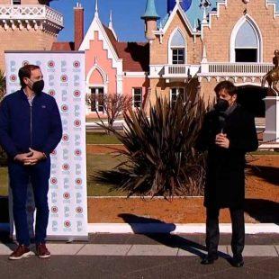 Garro le propondrá a Kicillof el cierre de plazas y parques