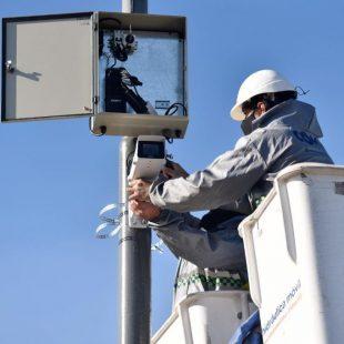 Más cámaras para monitorear las calles de La Plata