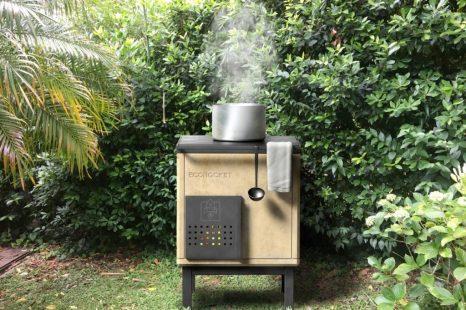EcoRocket: la cocina sustentable creada por platenses