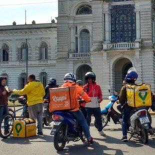 La Plata: multaron a Glovo, Rappi y Pedidos Ya