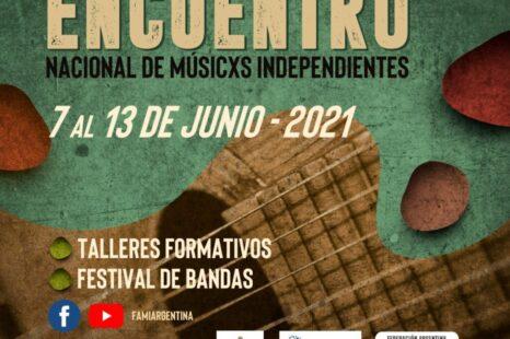Realizarán online el Encuentro Nacional de Músicos Independientes
