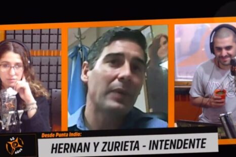 """Intendente de Punta Indio: """"Esto es posible porque el Estado se puso al frente"""""""
