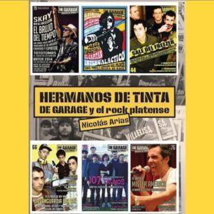 «Hermanos de tinta», libro sobre el rock platense desde el diario «De Garage»