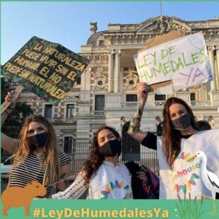 """Reclamaron se vote la Ley de Humedales: """"No hay una voluntad política real"""""""