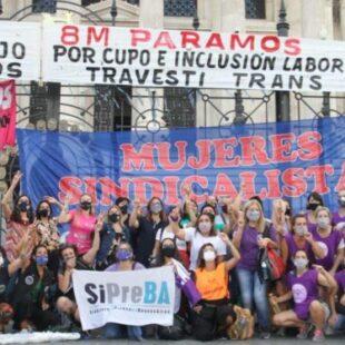 Mujeres Sindicalistas exigieron a la CGT ocupar lugares en el Concejo Directivo